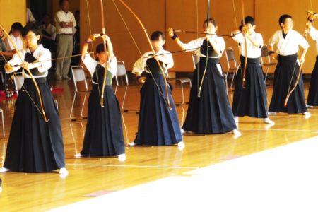 弓道の試合